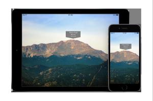 iPadAir 2 iPhone 6 Screen